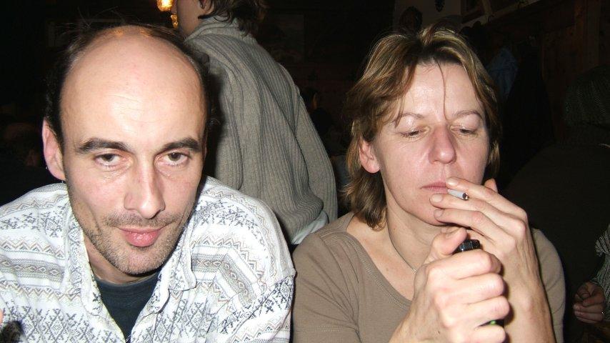 Silvester 2004: Hüttenabend in der Pendling-Hütte auf dem